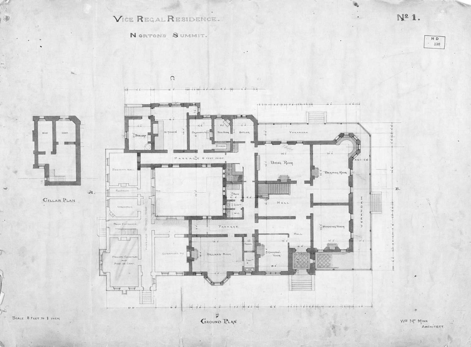 Plans Of Marble Hill